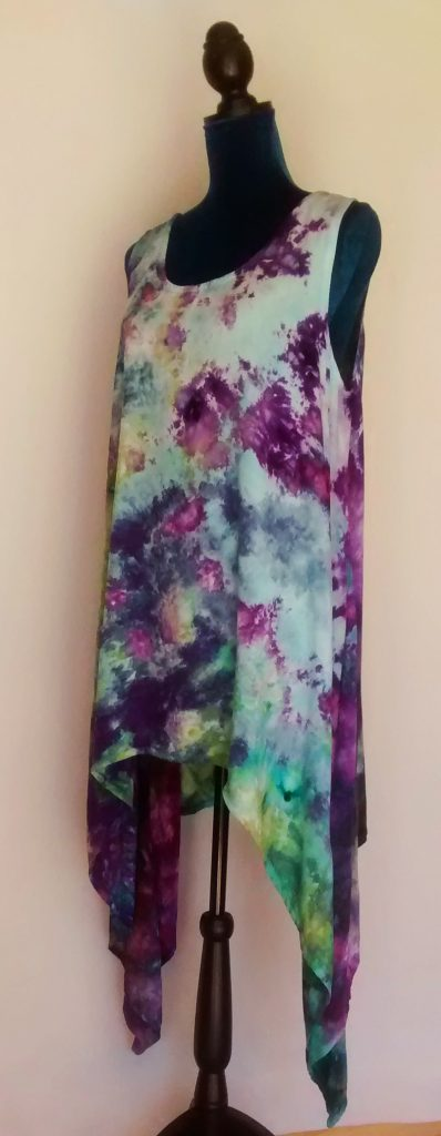 Tunic Dress Ice Dyed by Goblins' Market